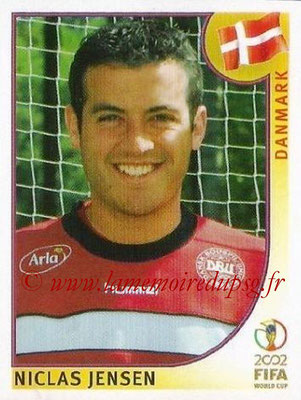 2002 - Panini FIFA World Cup Stickers - N° 084 - Niclas JENSEN (Danemark)