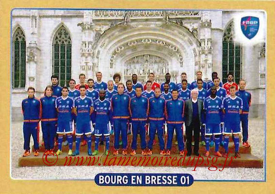 2015-16 - Panini Ligue 1 Stickers - N° 486 - Equipe Bourg en Bresse