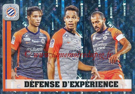 2018-19 - Panini Ligue 1 Stickers - N° 275 - Défense d'Expérience Montpellier
