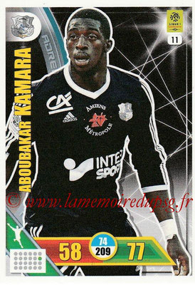 2017-18 - Panini Adrenalyn XL Ligue 1 - N° 011 - Aboubakar KAMARA (Amiens)