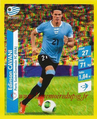 N° 142 - Edinson CAVANI (2013-??, PSG > 2014, Uruguay)