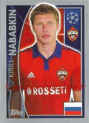2015-16 - Topps UEFA Champions League Stickers - N° 124 - Kirill NABABKIN (CSKA Moscou)