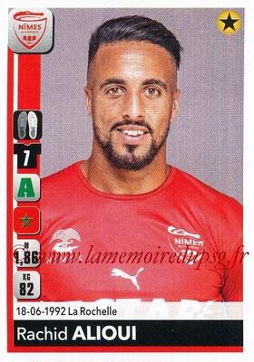 2018-19 - Panini Ligue 1 Stickers - N° 340 - Rachid ALIOUI (Nîmes)