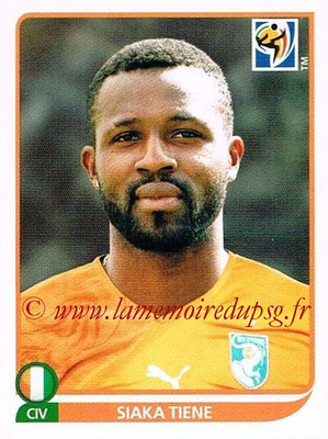 2010 - Panini FIFA World Cup South Africa Stickers - N° 532 - Siaka TIENE (Côte d'Ivoire)