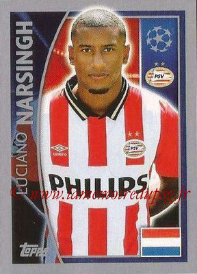 2015-16 - Topps UEFA Champions League Stickers - N° 099 - Luciano NARSINGH (PSV Eindhoven)