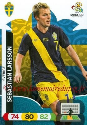 Panini Euro 2012 Cards Adrenalyn XL - N° 209 - Sebastian LARSSON (Suède)