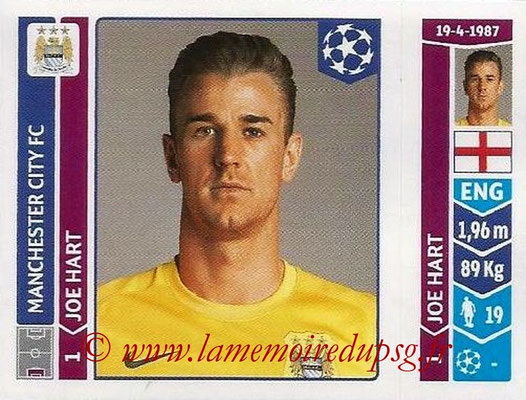 2014-15 - Panini Champions League N° 363 - Joe Hart (Manchester City FC)