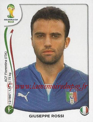 2014 - Panini FIFA World Cup Brazil Stickers - N° 334 - Giuseppe ROSSI (Italie)
