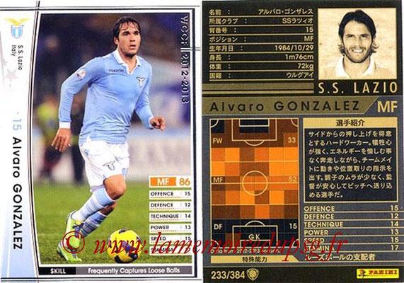 2012-13 - WCCF - N° 233 - Alvaro GONZALEZ (SS Lazio)