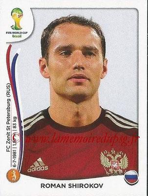 2014 - Panini FIFA World Cup Brazil Stickers - N° 611 - Roman SHIROKOV (Russie)