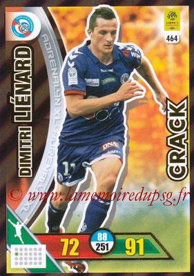 2017-18 - Panini Adrenalyn XL Ligue 1 - N° 464 - Dimitri LIENARD (Strasbourg) (Crack)