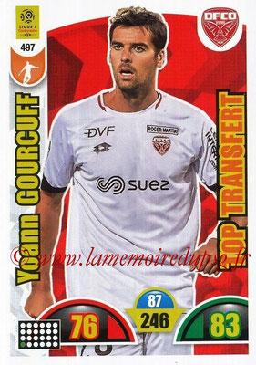 2018-19 - Panini Adrenalyn XL Ligue 1 - N° 497 - Yoann GOURCUFF (Dijon) (Top Transfert)