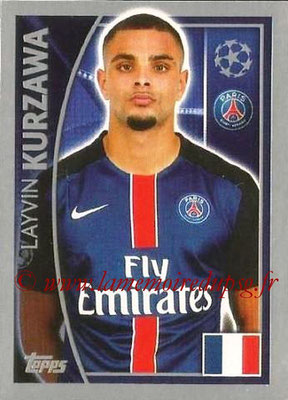 2015-16 - Topps UEFA Champions League Stickers - N° 020 - Layvin KURZAWA (Paris Saint-Germain)