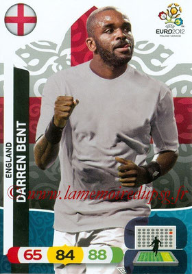 Panini Euro 2012 Cards Adrenalyn XL - N° 056 - Darren BENT (Angleterre)
