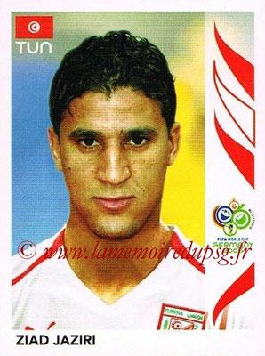 2006 - Panini FIFA World Cup Germany Stickers - N° 584 - Ziad JAZIRI (Tunisie)