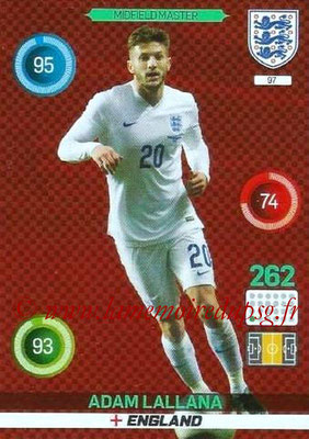 Panini England 2016 Adrenalyn XL - N° 097