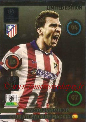 2014-15 - Adrenalyn XL champions League N° LE-MM - Mario MANDZUKIC (Atletico Madrid) (Limited Edition)