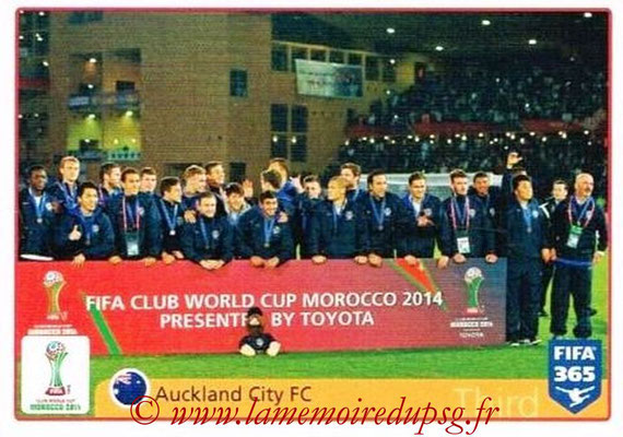 2015-16 - Panini FIFA 365 Stickers - N° 027 - Auckland City FC (2014) (FIFA Club World Cup)