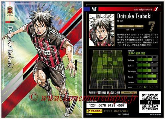 Panini Football League 2014 - PFL04E - N° 011 - Daisuke Tsubaki (East Tokyo United)