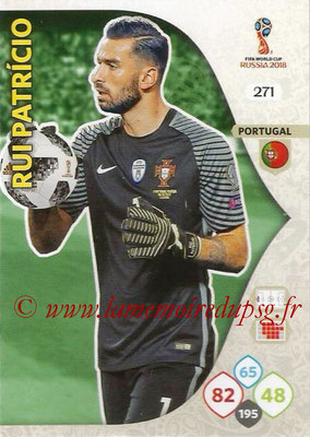 2018 - Panini FIFA World Cup Russia Adrenalyn XL - N° 271 - Rui PATRICIO (Portugal)