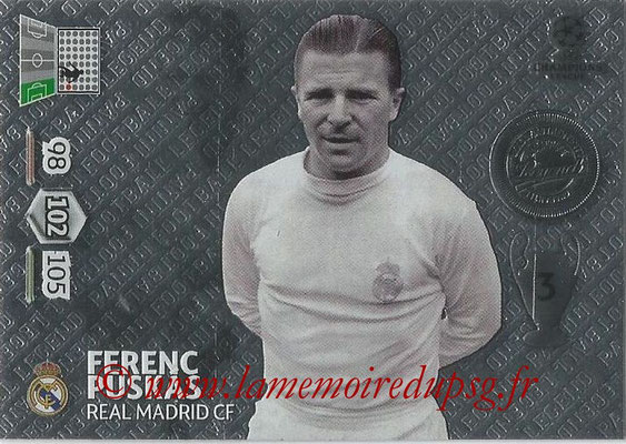 2013-14 - Adrenalyn XL champions League N° 365 - Ferenc PUSKAS (Real Madrid CF) (Legend)