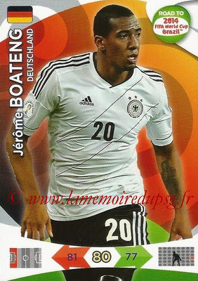 2014 - Panini Road to FIFA World Cup Brazil Adrenalyn XL - N° 050 - Jérôme BOATENG (Allemagne)