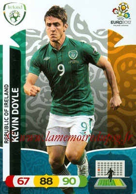 Panini Euro 2012 Cards Adrenalyn XL - N° 188 - Kevin DOYLE (Eire)