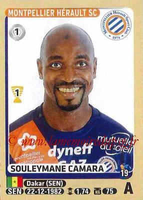 2015-16 - Panini Ligue 1 Stickers - N° 285 - Souleymane CAMARA (Montpellier Hérault SC)