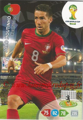 2014 - Panini FIFA World Cup Brazil Adrenalyn XL - N° 274 - Joao MOUTINHO (Portugal)