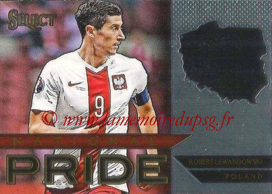 2015 - Panini Select Soccer - N° NP30 - Robert LEWANDOWSKI (Pologne) (National Pride)