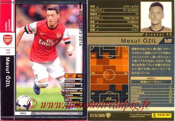 2013-14 - WCCF - N° 010 - Mesut ÖZIL (Arsenal FC)