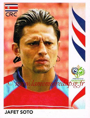 2006 - Panini FIFA World Cup Germany Stickers - N° 050 - Jafet SOTO (Costa Rica)