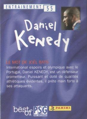 N° 055 - Daniel KENEDY (Verso)