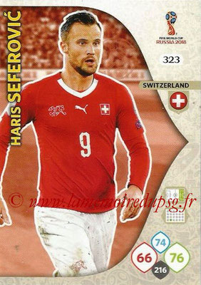 2018 - Panini FIFA World Cup Russia Adrenalyn XL - N° 323 - Haris SEFEROVIC (Suisse)