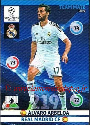 2014-15 - Adrenalyn XL champions League Update edition N° UE073 - Alvaro ARBELOA (Real Madrid)