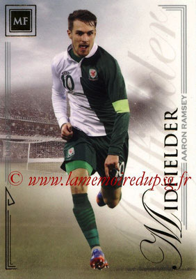 2014 - Futera World Football Unique - N° 054 - Aaron RAMSEY (Midfielder)