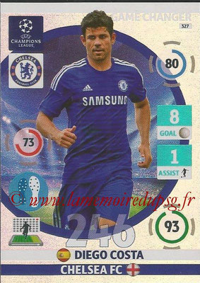 2014-15 - Adrenalyn XL champions League N° 327 - Diego COSTA (Chelsea FC) (Game Changer)