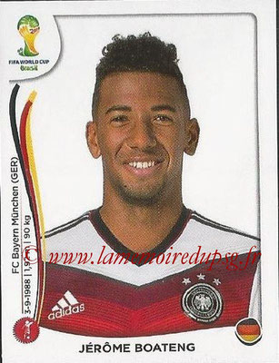2014 - Panini FIFA World Cup Brazil Stickers - N° 493 - Jérôme BOATENG (Allemagne)