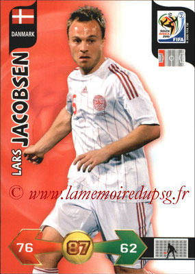2010 - Panini FIFA World Cup South Africa Adrenalyn XL - N° 077 - Lars JACOBSEN (Danemark)