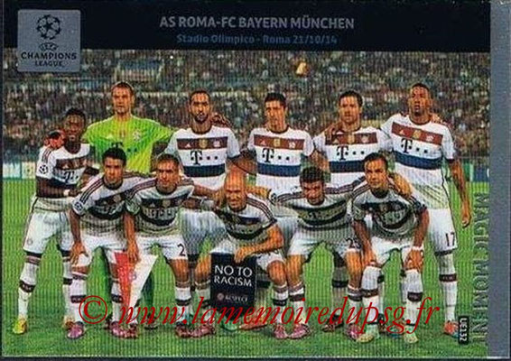 2014-15 - Adrenalyn XL champions League Update edition N° UE132 - AS Roma-Bayern Munich (Magic Moment)