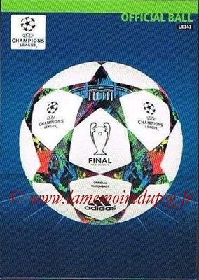 2014-15 - Adrenalyn XL champions League Update edition N° UE141 - Official Ball