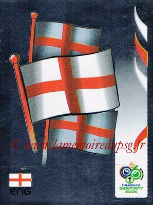 2006 - Panini FIFA World Cup Germany Stickers - N° 094 - Ecusson Angleterre