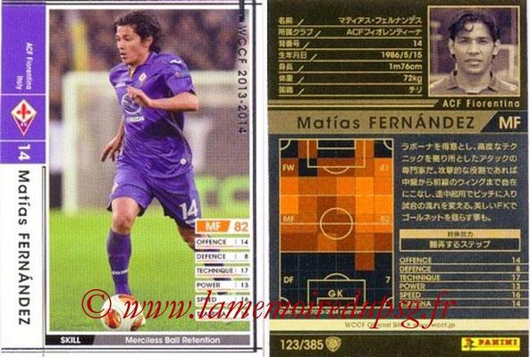 2013-14 - WCCF - N° 123 - Matias FERNANDEZ (ACF Fiorentina)