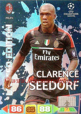 2011-12 - Panini Champions League Cards - N° LE31 - Clarence SEEDORF (Milan AC) (Limited Edition)