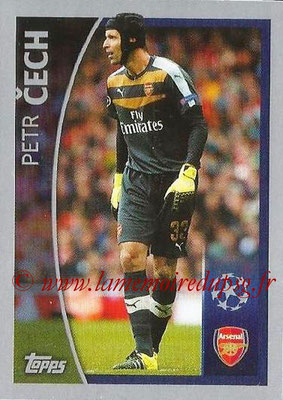2015-16 - Topps UEFA Champions League Stickers - N° 572 - Petr CECH (Arsenal FC) (Player to Watch)