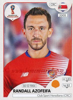 2018 - Panini FIFA World Cup Russia Stickers - N° 406 - Randall AZOFEITA (Costa Rica)