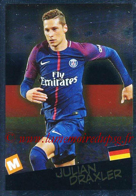 2017-18 - Panini Ligue 1 Stickers - N° 537 - Julian DRAXLER (Paris Saint-Germain  + Allemagne) (Planète Ligue 1)