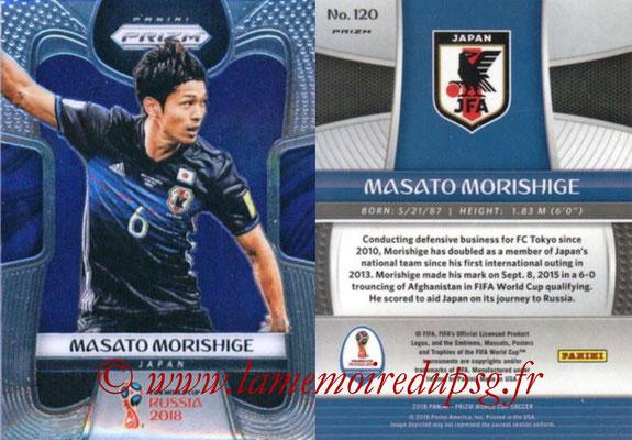 2018 - Panini Prizm FIFA World Cup Russia - N° 120 - Masato MORISHIGE (Japon)