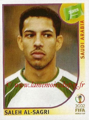 2002 - Panini FIFA World Cup Stickers - N° 337 - Saleh AL-SAGRI (Arabie Saoudite)