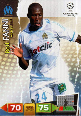 2011-12 - Panini Champions League Cards - N° 194 - Rod FANNI (Olympique de Marseille)